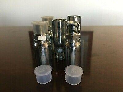 Weatherhead 06u-108 Interchange Style Hydraulic Hose Fitting 12 Male Pipe 5pk