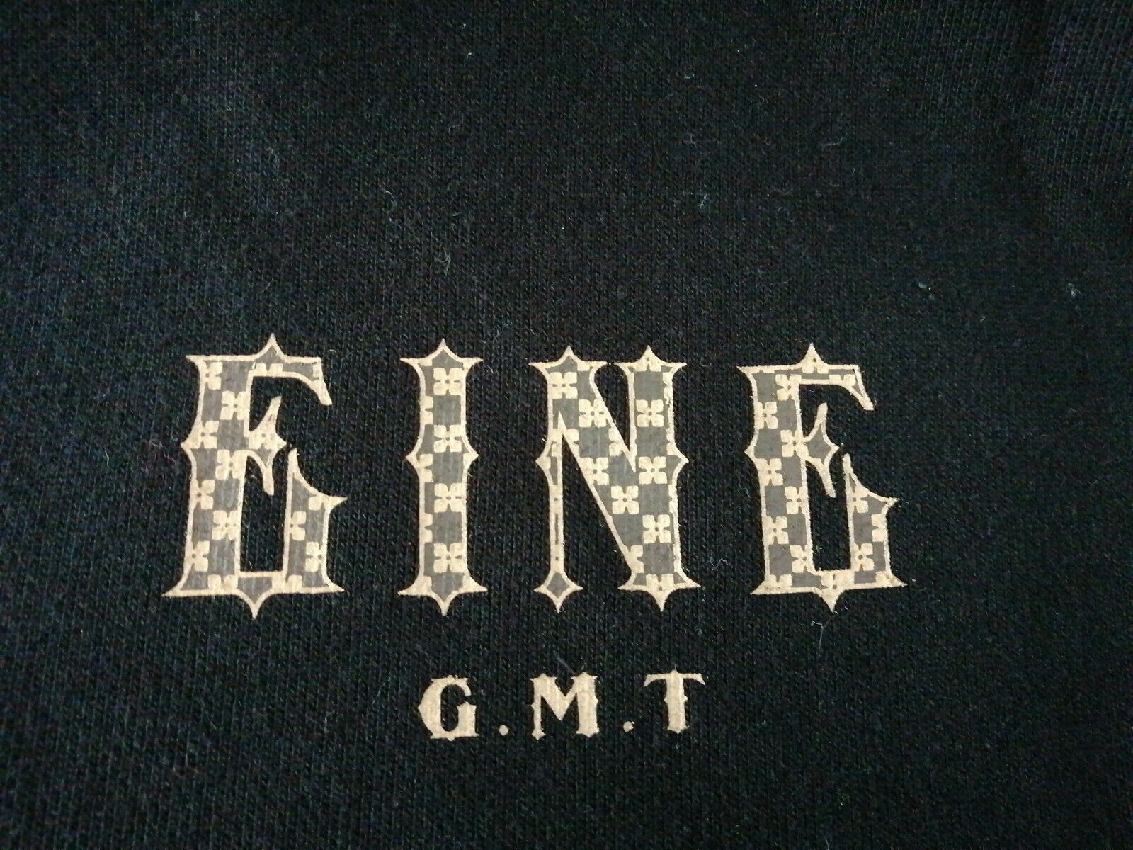 Ben Eine Black Hoodie GMT UK Medium Street Art Banksy RRP £140 BN URBAN