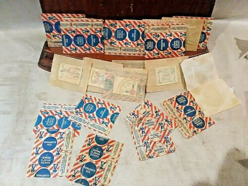 Super Clean Collection of over 24 Vintage Cracker Jack Prizes unopened