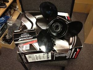 NEW MERCURY MARINER 75 - 125 Propellor Outboard Engine Motor Propeller Prop Ally