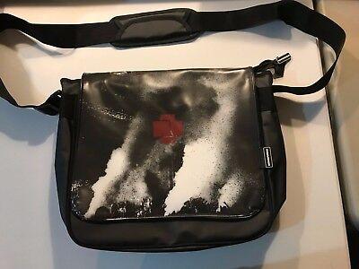 Rammstein Messenger Bag Reversible Cover Laptop Bag New Never Used Metal Rock