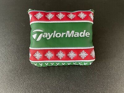 Taylormade Spider The Vault Putter Headcover Ugly Christmas Sweater Grinch Lined