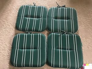 Lawn Comfort Deck Chair pads x 4