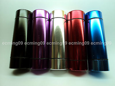 1 x 7.5 cm tall Tobacco or Herbs stainless water-proof container tin (TT-8016)