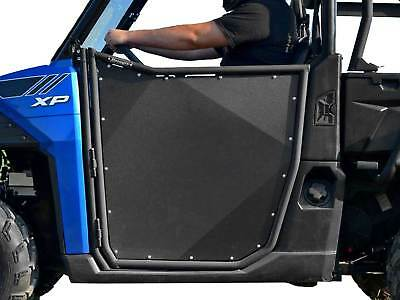 SuperATV Heavy Duty Aluminum Doors for Polaris Ranger XP 900 (2013+) - Pair