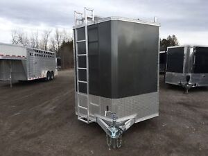 2018 Mission Trailers 7' x 14' All Aluminum Contractor