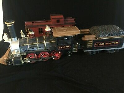 Walt Disney World Gold Rush Train Set by New Bright G Scale for Christmas Tree