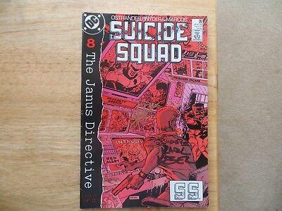 1989 DC SUICIDE SQUAD # 29 SIGNED 3X JOHN OSTRANDER, KARL KESEL & JOHN K SNYDER