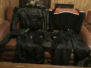 Genuine Harley Davidson leather jackets and riding gear for sale