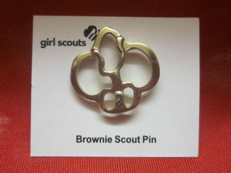 BROWNIE GIRL SCOUT MEMBERSHIP PIN