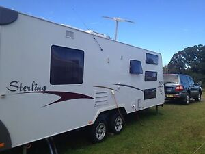 2008 Jayco Stirling 24ft dual axle Triple bunk + ensuite Pitt Town Hawkesbury Area Preview