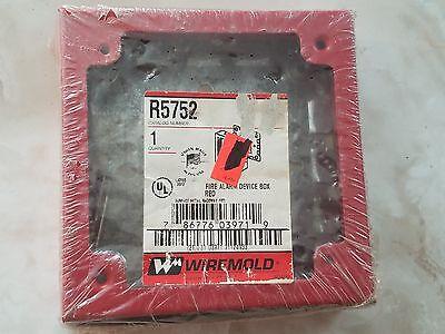 1 New Wiremold R5752 Fire Alarm Device Box