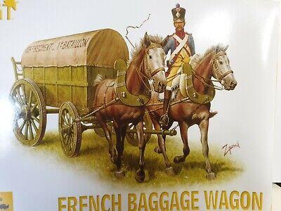 HÄT 8101 1:72 Figuren. Französischer Gepäckwagen. 1 Guss. Blau