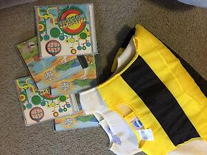 Children's bee and cow costume (w/ children's cds) Oxenford Gold Coast North Preview