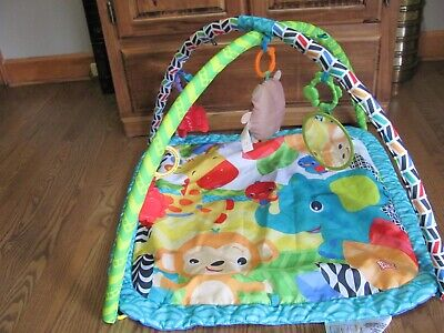 Bright Starts Baby Play Gym Activity Center Creeping Mat Soft Game