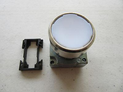 Siemens 3SB3 501-0AA61 Push Button White ILLuminated NEW!!! Free Shipping