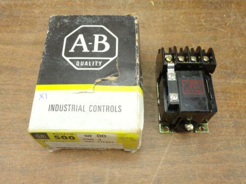 Unused Allen-Bradley 500-TOD930 AC Contactor Series A