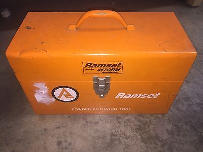 Ramset Model 4170rm Wbox Extras. Rammaster Ram Master Powder Actuated Tool
