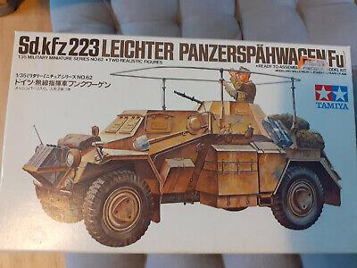 Tamiya Sd. Kfz. 223 LEICHTER PANZERSPAHWAGEN FU 1/35 Scale Kit 35268