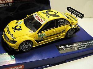 Carrera-Digital-132-30561-AMG-Mercedes-DTM-Deutsche-Post-David-Coulthard-NUOVO