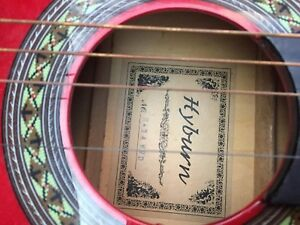 Hyburn acoustic classical guitar