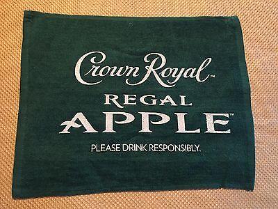 """CROWN ROYAL""""REGAL""""APPLE BAR TOWEL"""