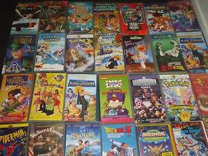 65   VHS  kids MOVIES GOOD CONDITION  Free Delivery Melb  $145. Carlton Melbourne City Preview