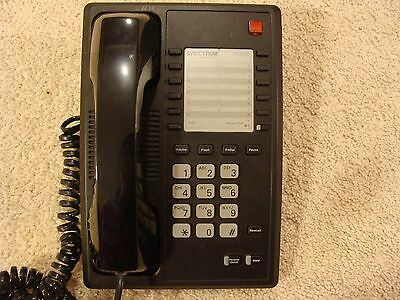 Lot F 10 Telematrix Spectrum Tmx1102 Business Phone - Black - Local Pickup