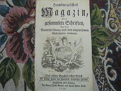 1753 ... Magazin 1 / Mathematik Euler / Medizin Arznei Apotheken /