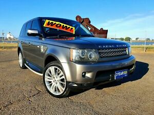 2009 Land Rover Range Rover Sport L320 10MY TDV8 Luxury Silver 6 Speed Sports Automatic Wagon Mayfield East Newcastle Area Preview