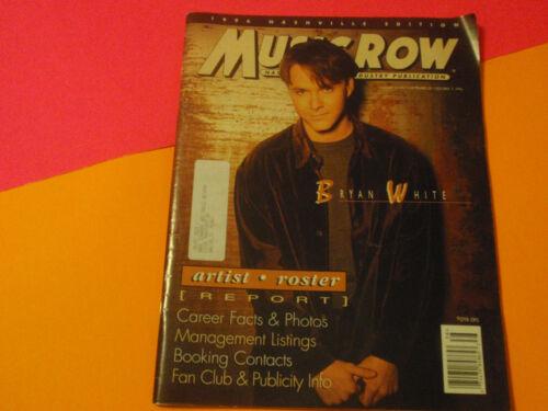 MUSIC ROW MAG 1996 NASHVILLE ARTIST EDITION-STAR INFO-COUNTRY MUSIC TREASURE: