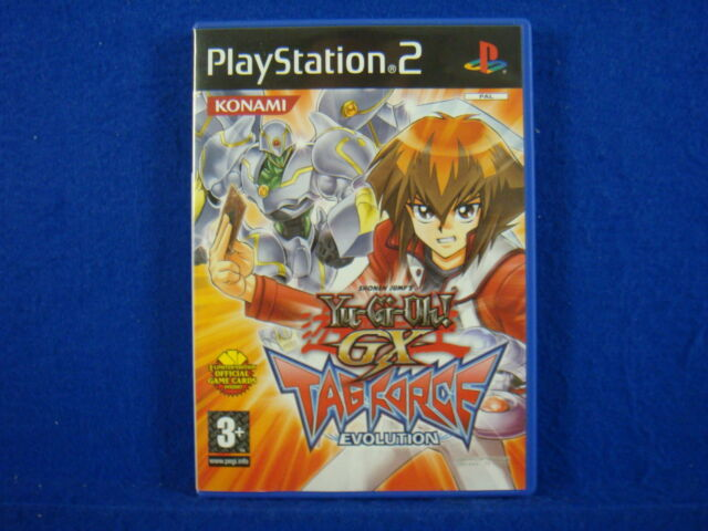 ps2 Yu-Gi-Oh! GX Tag Force Evolution Game Yugioh MINT DISC Playstation PAL