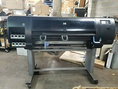 Hp Designjet Z6200 Wide Format Color Plotter - Cq111a - Tested To Turn On No Ink