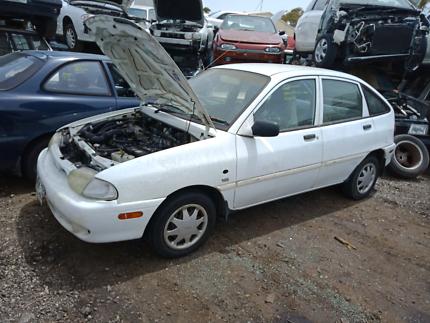 Ford Festiva White 4 Door Wrecking