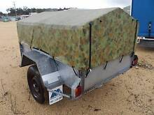 Modern Trailers 6x4 box trailer with canopy. Ex Army. Galvanised. Inverell Inverell Area Preview