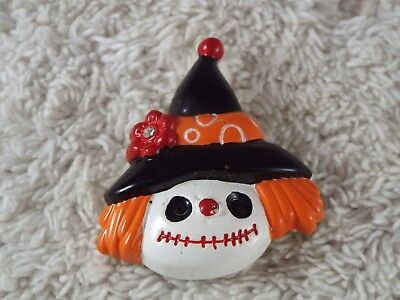 Scarecrow Face Halloween (BEST Witch Scarecrow Face Halloween Pin)