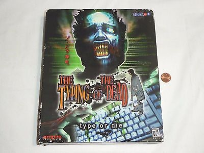 New  W  Box Wear  The Typing Of The Dead Pc Big Box Game Sealed Sega Computer
