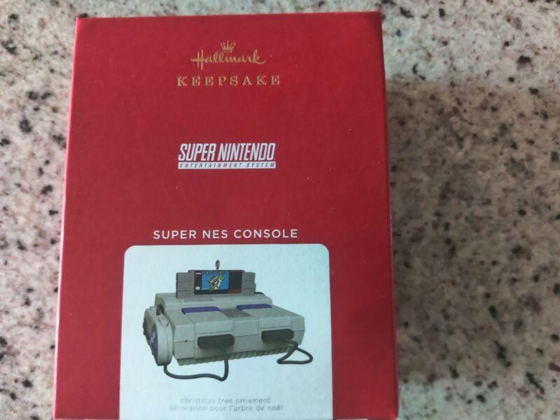 2021 Hallmark Keepsake Super Nintendo SNES Christmas Ornament Light And Sound