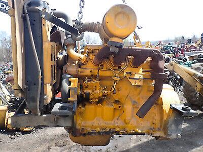 John Deere 4239df Diesel Engine Runs Exc Video 4239 239 Tractor Backhoe 310
