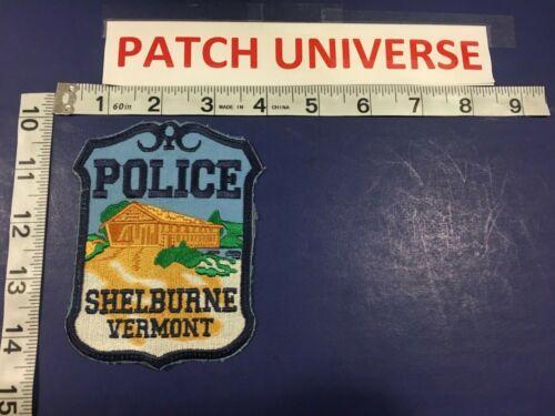 SHELBURNE VERMONT  POLICE  SHOULDER PATCH  R121