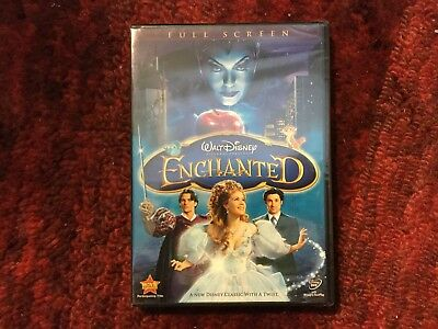 Disney   Enchanted With English And Spanish Audio   New Dvd