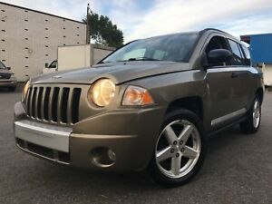 2007 JEEP COMPASS LIMITED 4CYL/2.4L/AUT/AC/CUIR/TOIT