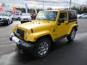 2015 Jeep Wrangler Sahara LOCAL TRADE, LOW KMS! (ST STEPHEN)