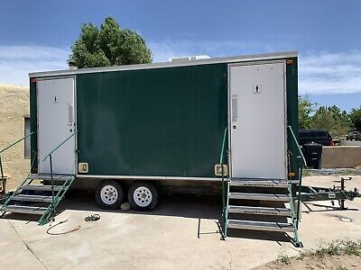 2002 Ameri-can Engineering 7 Unit Mobile Bathroom Restroom Trailer - Pre-owned