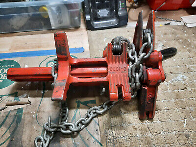 Ridgid C-1070 Chain Vise Soil Pipe Wrench Soil Pipe Assembly Tool