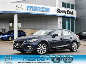 2014 Mazda Mazda3 GT Nav Leather Heated Seats Bose Rear Cam