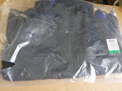 Superdry Pop Zip Hooded Arctic Windcheater Jacket Black Deep Purple Coat 14 L
