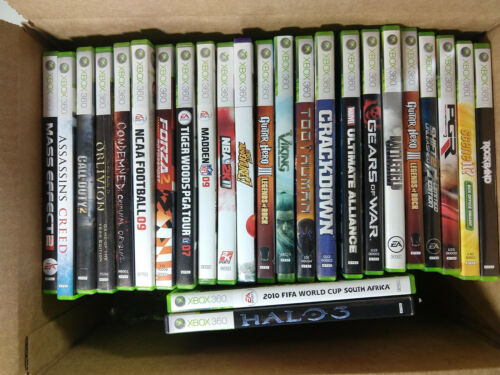 Huge Microsoft Xbox 360 Video Games Lot of 25 RPG Sports FPS Many More!