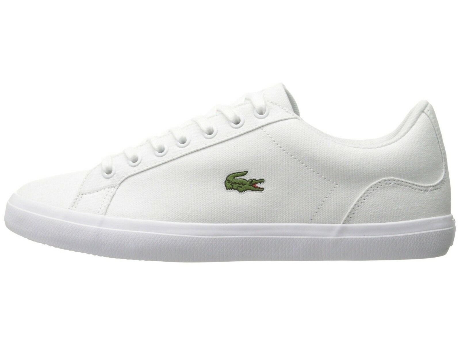 Lacoste Lerond BL 2 Men's Croc Logo Casual Slip On Loafer shoes Sneakers White