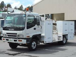 FRR525 Isuzu Service Truck *** Low KMS *** Mulgrave Hawkesbury Area Preview